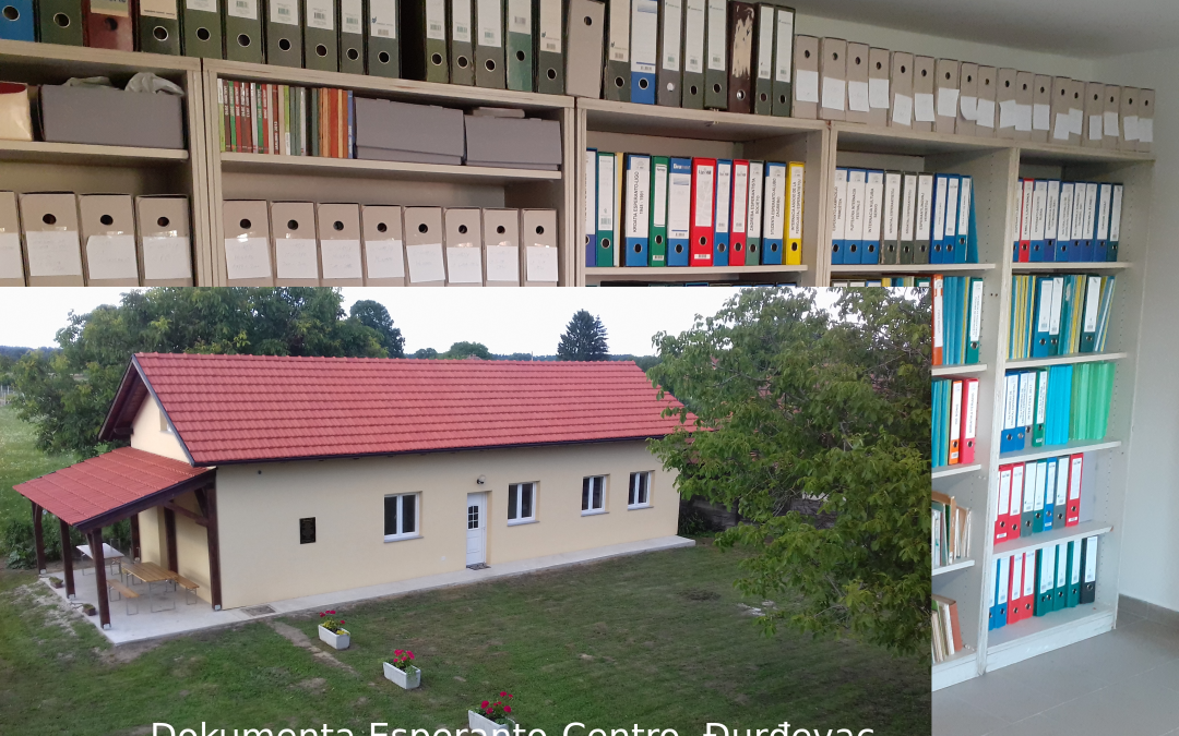 Libraries 2: The national Esperanto archive in Croatia