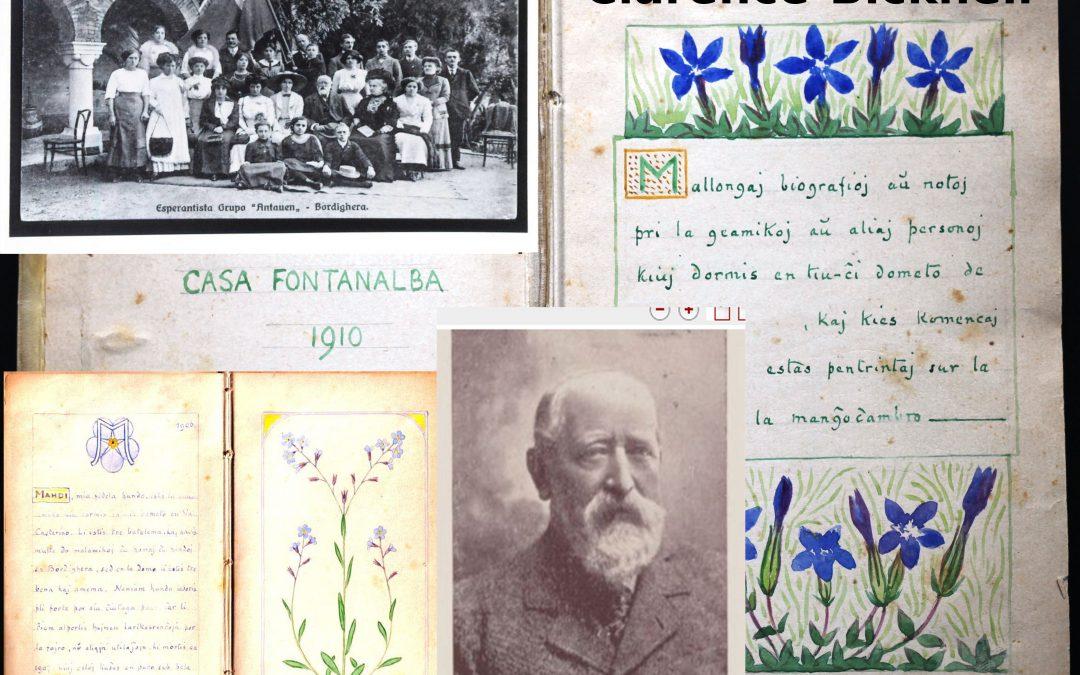 Clarence Bicknell – Esperanto kun vervo